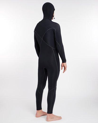 13 5/4 Furnace Carbon Ultra Hooded Fullsuit Wetsuit Noir L45M20BIF8 Billabong