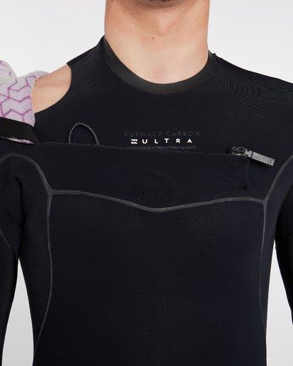 18 5/4 Furnace Carbon Ultra Hooded Fullsuit Wetsuit Noir L45M20BIF8 Billabong