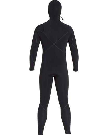6 6/5 Furnace Carbon Ultra Hooded Fullsuit Wetsuit Noir L46M01BIF8 Billabong