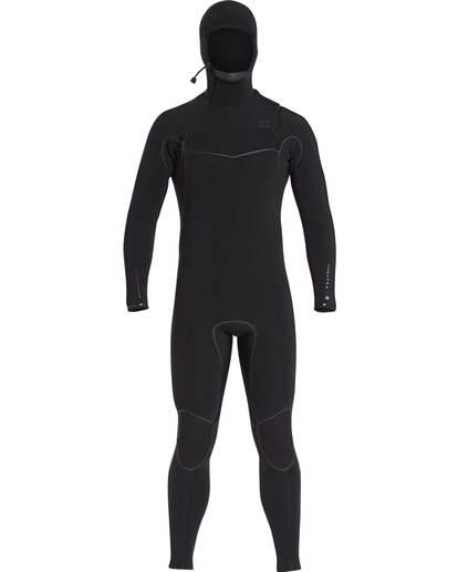 0 6/5 Furnace Carbon Ultra Hooded Fullsuit Wetsuit Noir L46M01BIF8 Billabong
