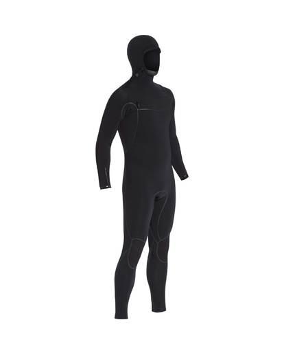 4 6/5 Furnace Carbon Ultra Hooded Fullsuit Wetsuit Noir L46M01BIF8 Billabong