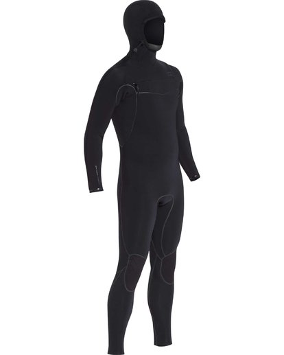 8 6/5 Furnace Carbon Ultra Hooded Fullsuit Wetsuit Noir L46M01BIF8 Billabong