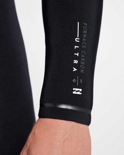 15 6/5 Furnace Carbon Ultra Hooded Fullsuit Wetsuit Noir L46M01BIF8 Billabong