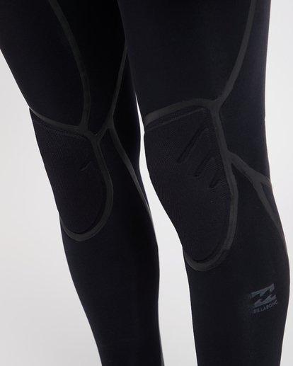 16 6/5 Furnace Carbon Ultra Hooded Fullsuit Wetsuit Noir L46M01BIF8 Billabong