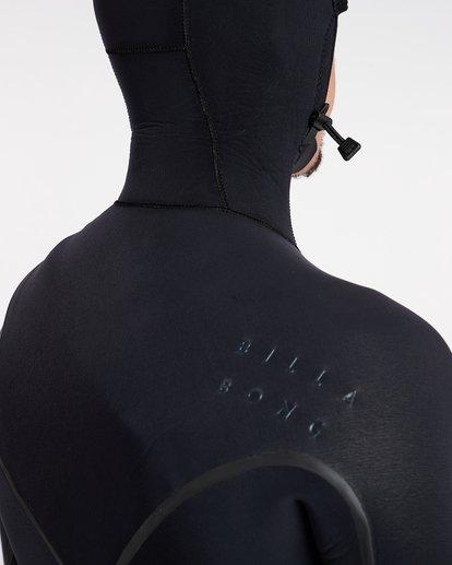 17 6/5 Furnace Carbon Ultra Hooded Fullsuit Wetsuit Noir L46M01BIF8 Billabong