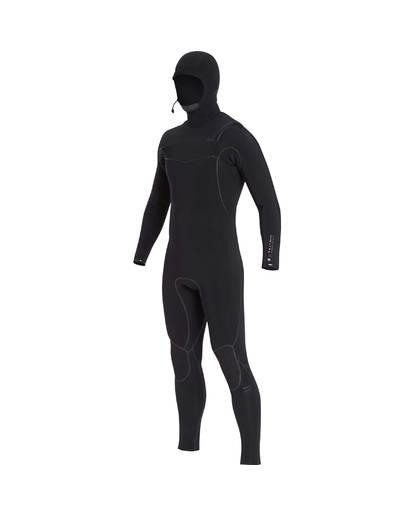 1 7/6 Furnace Carbon Ultra Hooded Fullsuit Wetsuit Noir L47M01BIF8 Billabong