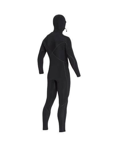 3 7/6 Furnace Carbon Ultra Hooded Fullsuit Wetsuit Noir L47M01BIF8 Billabong