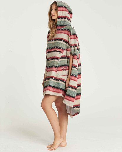 4 Hooded Poncho Towel Beige L4BR10BIF8 Billabong