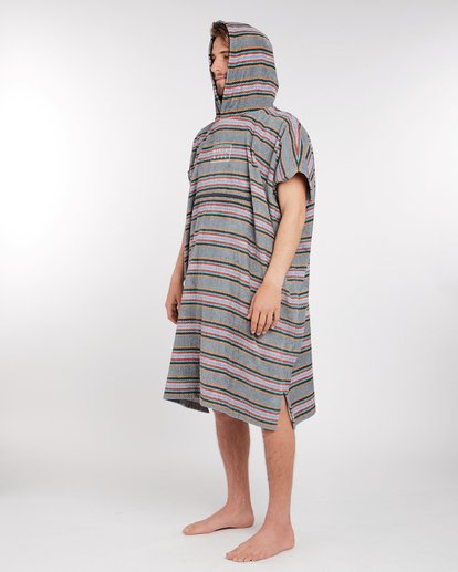 1 Hooded Poncho Towel Bleu L4BR11BIF8 Billabong