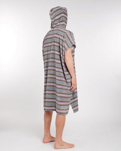 2 Hooded Poncho Towel Bleu L4BR11BIF8 Billabong