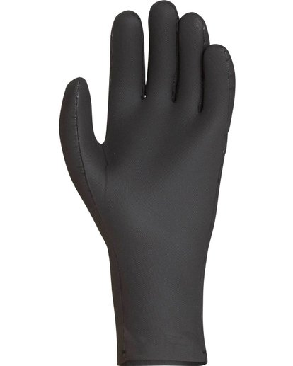 2 2mm Absolute 5 Finger Glove Noir L4GL15BIF8 Billabong