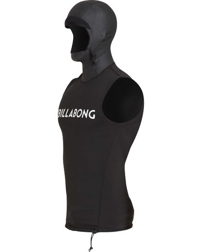 2 Furnace Thermal Hooded Vest Noir L4PY01BIF8 Billabong