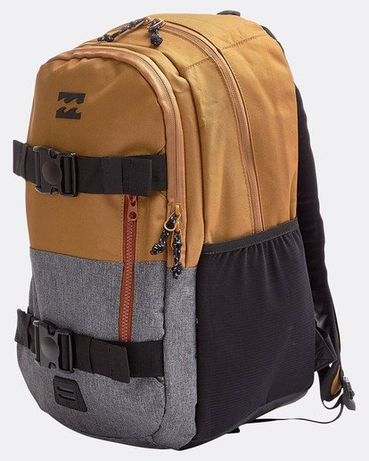 1 Command Skate Pack Backpack Brown L5BP03BIF8 Billabong
