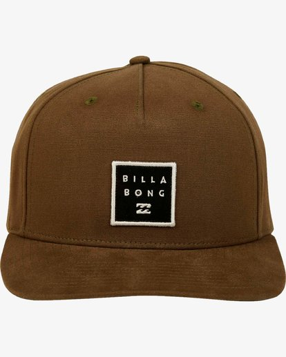 1 Stacked Snapback Hat  L5CM02BIF8 Billabong