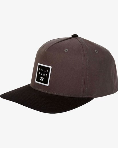 0 Stacked - Snapback Cap for Men Grey L5CM02BIF8 Billabong