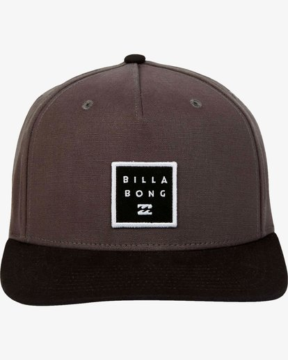 1 Stacked - Snapback Cap for Men Grey L5CM02BIF8 Billabong