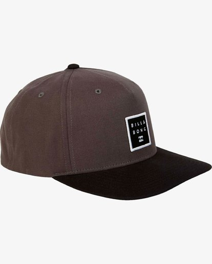 2 Stacked - Snapback Cap for Men Grey L5CM02BIF8 Billabong