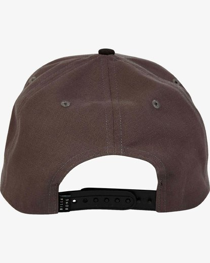 3 Stacked - Snapback Cap for Men Grey L5CM02BIF8 Billabong