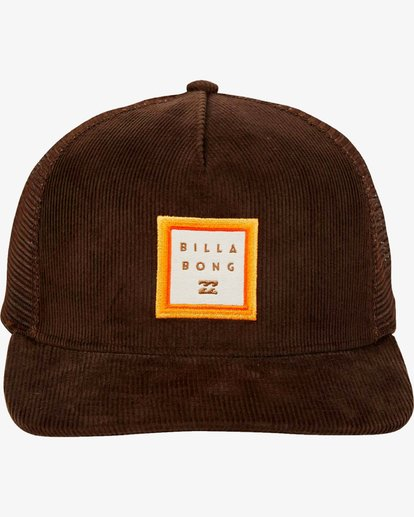 1 Stacked Trucker Hat Marron L5CT02BIF8 Billabong