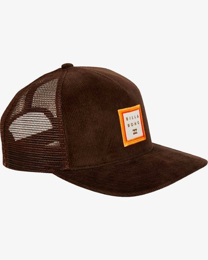 2 Stacked Trucker Hat Marron L5CT02BIF8 Billabong