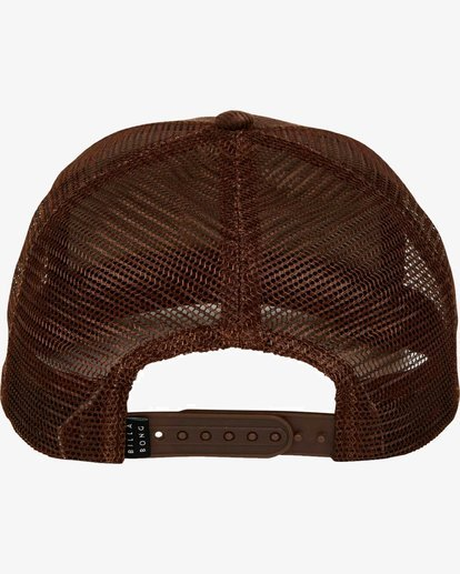 3 Stacked Trucker Hat Marron L5CT02BIF8 Billabong