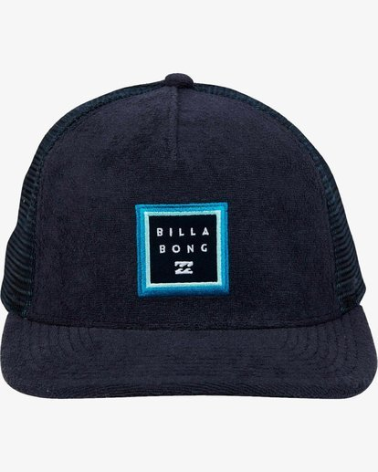 1 Stacked Trucker Hat Blue L5CT02BIF8 Billabong