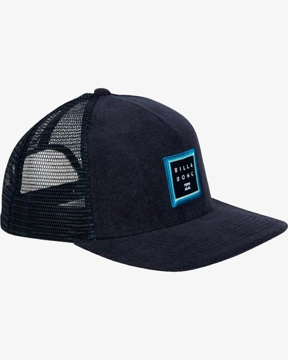 2 Stacked Trucker Hat Blue L5CT02BIF8 Billabong
