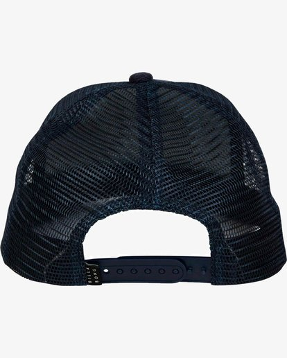 3 Stacked Trucker Hat Azul L5CT02BIF8 Billabong