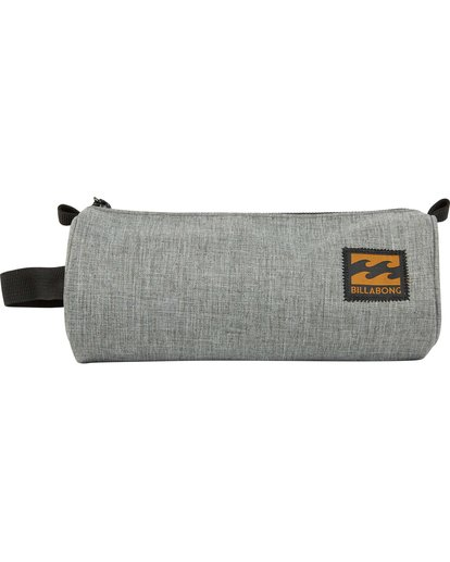 0 Barrel Pencil Case Gris L5PE01BIF8 Billabong