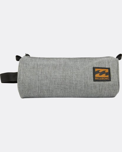 1 Barrel Pencil Case Gris L5PE01BIF8 Billabong