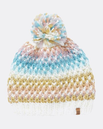 2 Snowball Womens Snow Beanie White L6BN01BIF8 Billabong