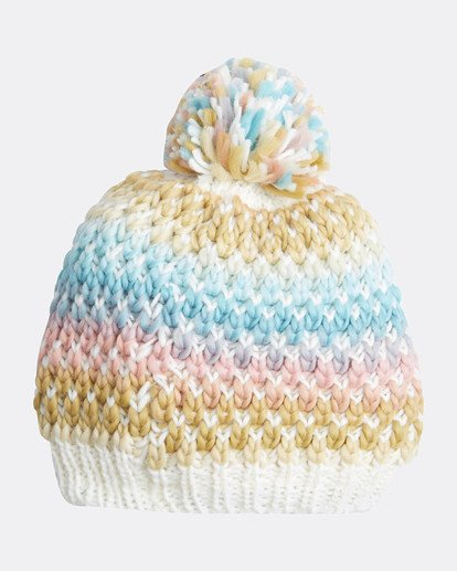 3 Snowball Womens Snow Beanie White L6BN01BIF8 Billabong