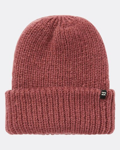 2 Mountain Tripe Snow Beanie Rojo L6BN02BIF8 Billabong