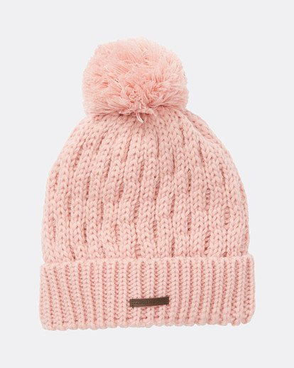 2 Good Vibes Only Snow Beanie Rose L6BN03BIF8 Billabong