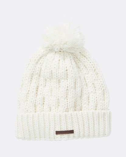 2 Good Vibes Only Snow Beanie Weiss L6BN03BIF8 Billabong