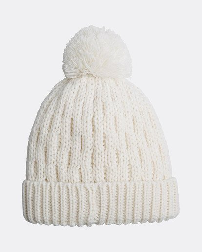 3 Good Vibes Only Snow Beanie Blanco L6BN03BIF8 Billabong