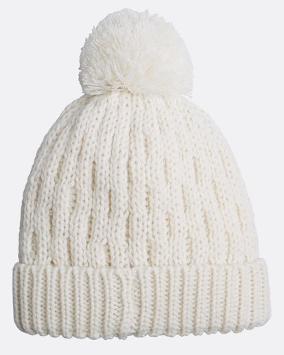 1 Good Vibes Only Snow Beanie Weiss L6BN03BIF8 Billabong