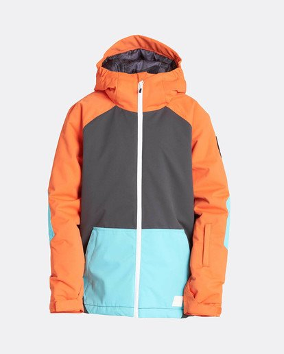 0 Boys All Day Snow Jacket Orange L6JB01BIF8 Billabong