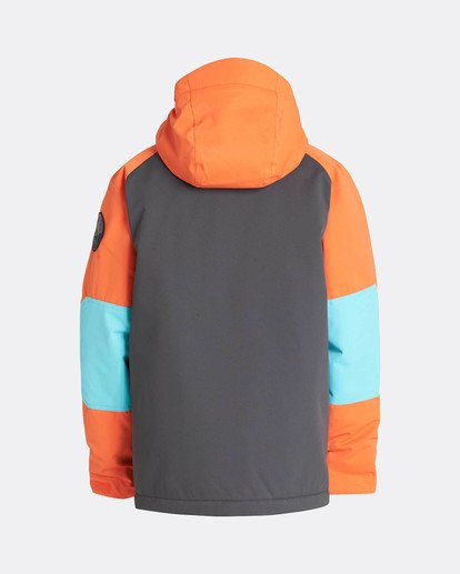 1 Boys All Day Snow Jacket Orange L6JB01BIF8 Billabong