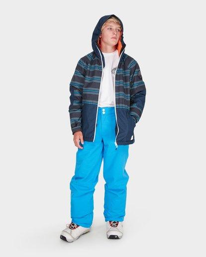 3 TEEN ALL DAY SNOW JACKET Blue L6JB01S Billabong
