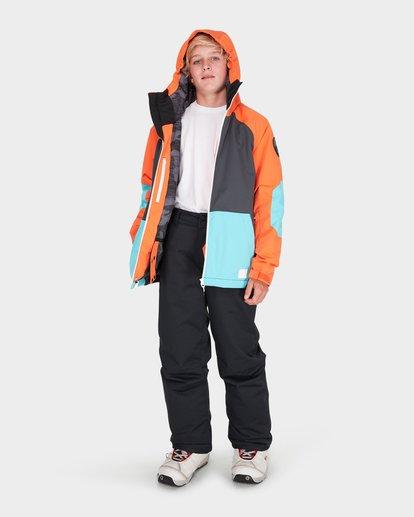 3 TEEN ALL DAY SNOW JACKET Orange L6JB01S Billabong
