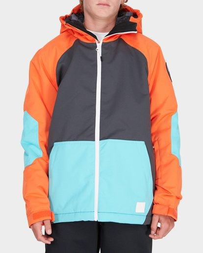 0 TEEN ALL DAY SNOW JACKET Orange L6JB01S Billabong
