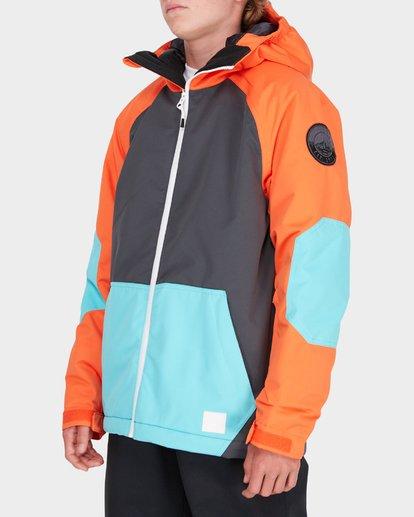 1 TEEN ALL DAY SNOW JACKET Orange L6JB01S Billabong