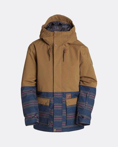 0 Boys Fifty 50 Snow Jacket Gelb L6JB02BIF8 Billabong