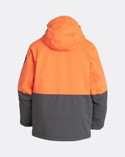 1 Boys Fifty 50 Snow Jacket Orange L6JB02BIF8 Billabong
