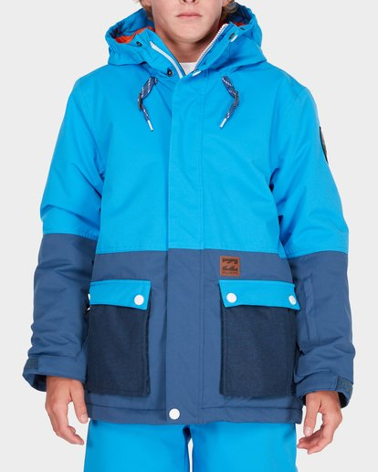 0 TEEN FIFTY 50 SNOW JACKET Blue L6JB02S Billabong