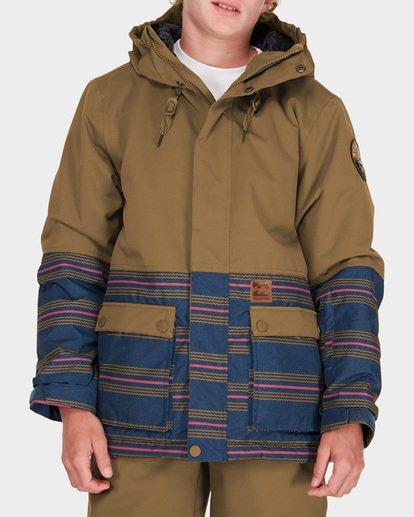 0 Teen Fifty 50 Snow Jacket Yellow L6JB02S Billabong