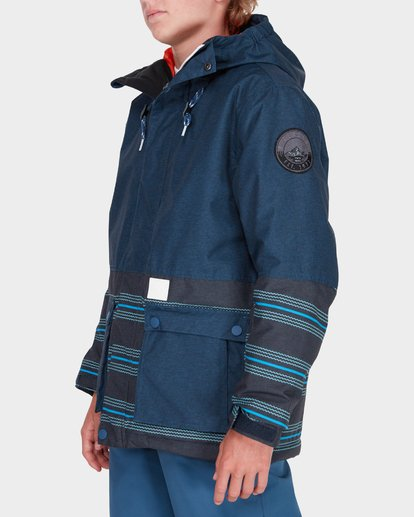 1 TEEN FIFTY 50 SNOW JACKET Blue L6JB02S Billabong