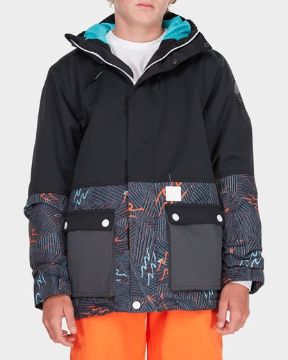 0 TEEN FIFTY 50 SNOW JACKET Black L6JB02S Billabong