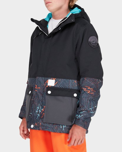 1 TEEN FIFTY 50 SNOW JACKET Black L6JB02S Billabong